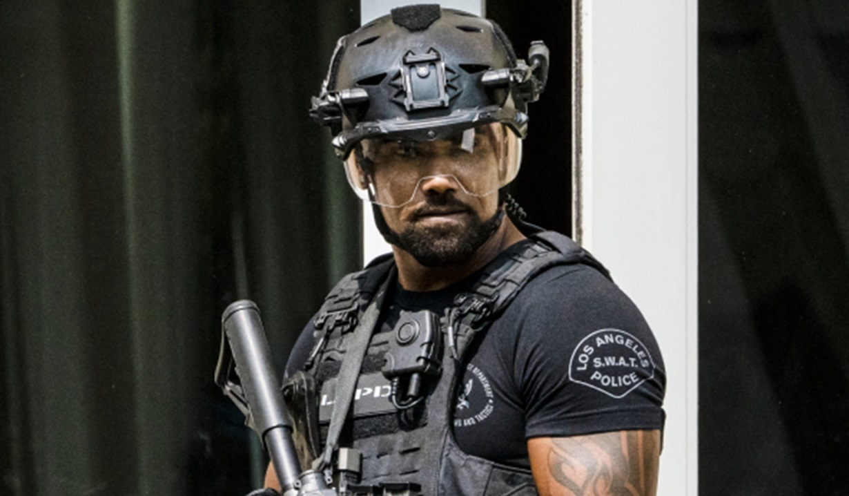 Shemar Moore Hondo tactical gear Swat Y&R