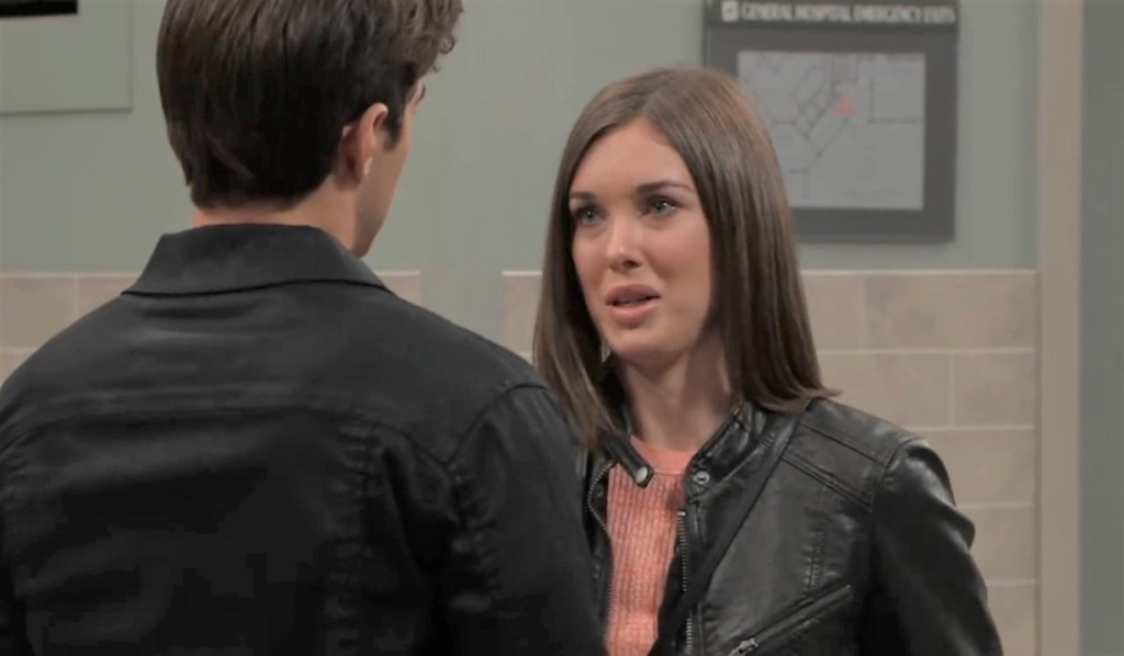 Willow and Chase talk Finn at General Hospital