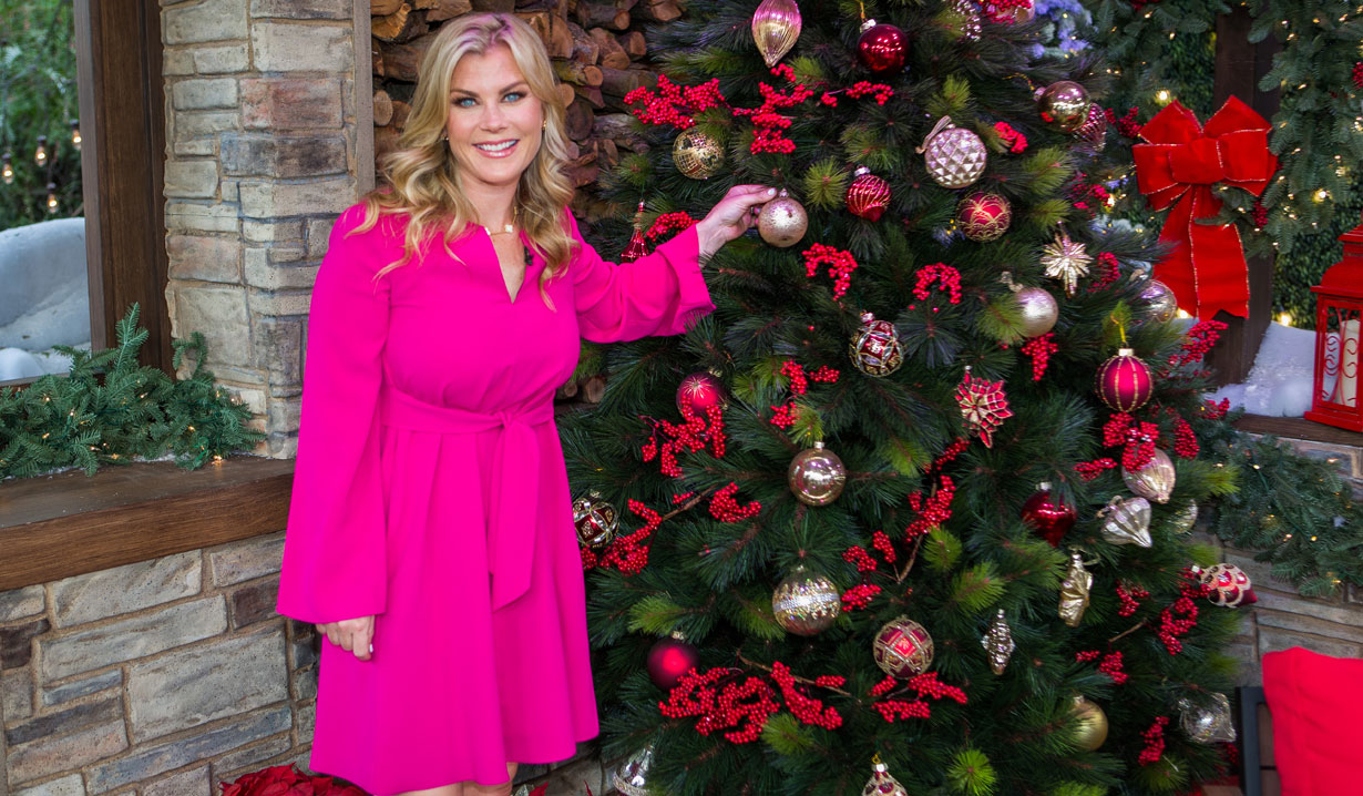 Days of Our Lives' Alison Sweeney Visits Hallmark's Home & Family