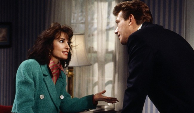ALL MY CHILDREN, from left: Susan Lucci, Walt Willey, 1990, 1970-2011. ph: Ann Limongello/© American Broadcasting Company /Courtesy Everett Collection