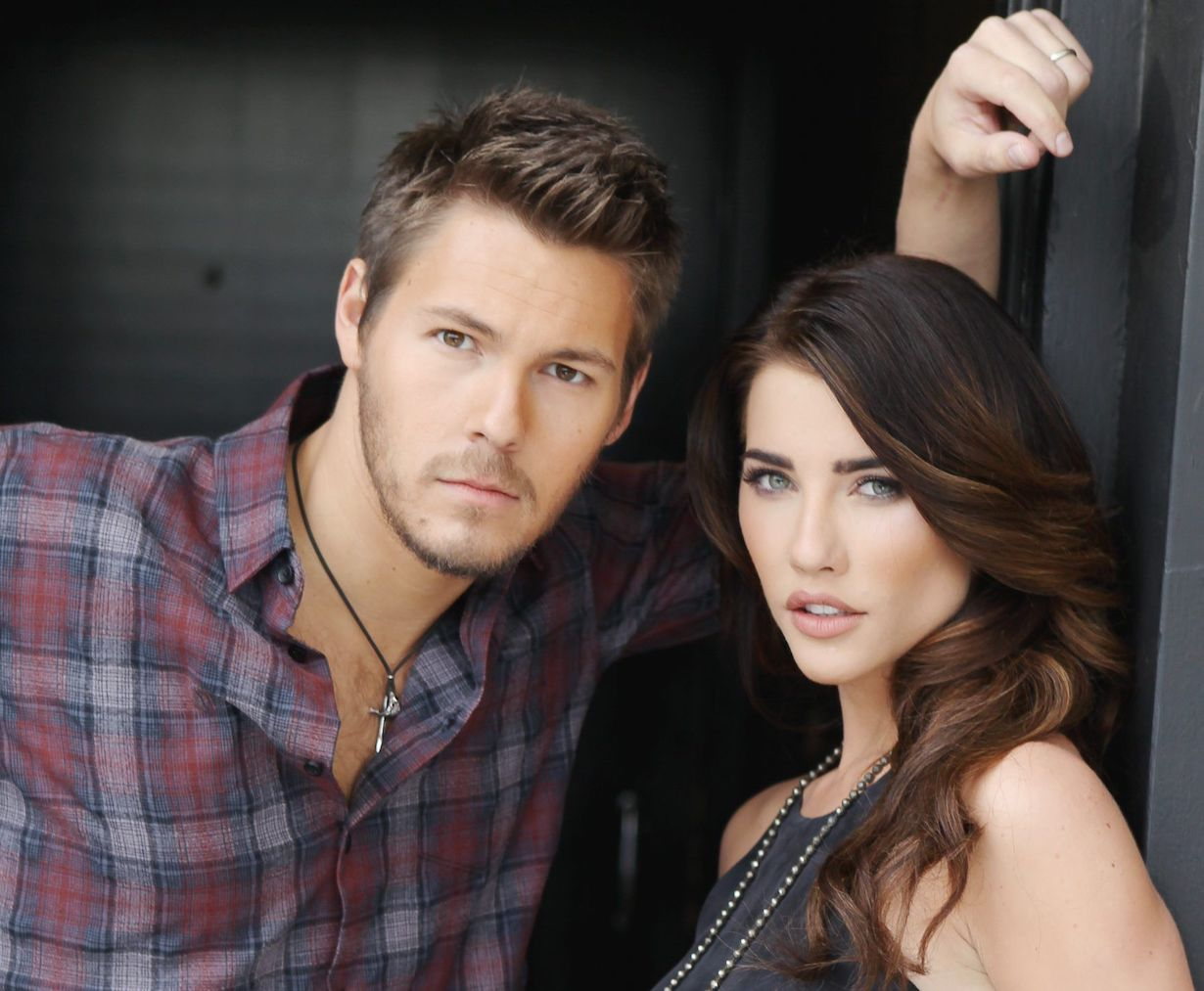 """The Bold and the Beautiful"" Jacqueline MacInnes Wood, Scott Clifton steffy liam gallery jp"