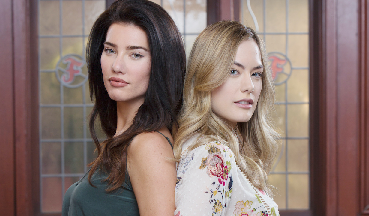 "steffy hope gallery Jacqueline MacInnes Wood, Annika Noelle""The Bold and the Beautiful"" SetCBS Television CityLos Angeles, Ca.06/05/18© Howard Wise/jpistudios.com310-657-9661"
