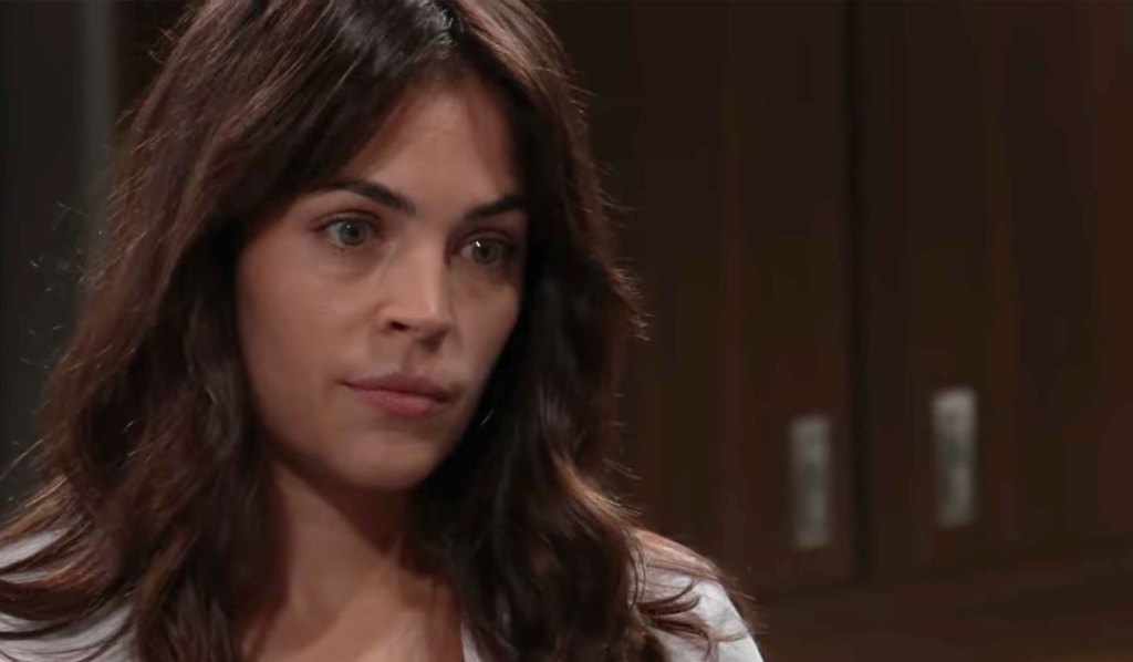 Brad worries to Britt on GH