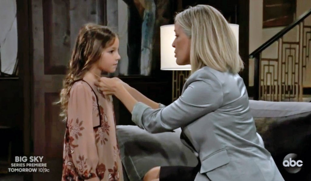 Carly and Avery's locked on GH