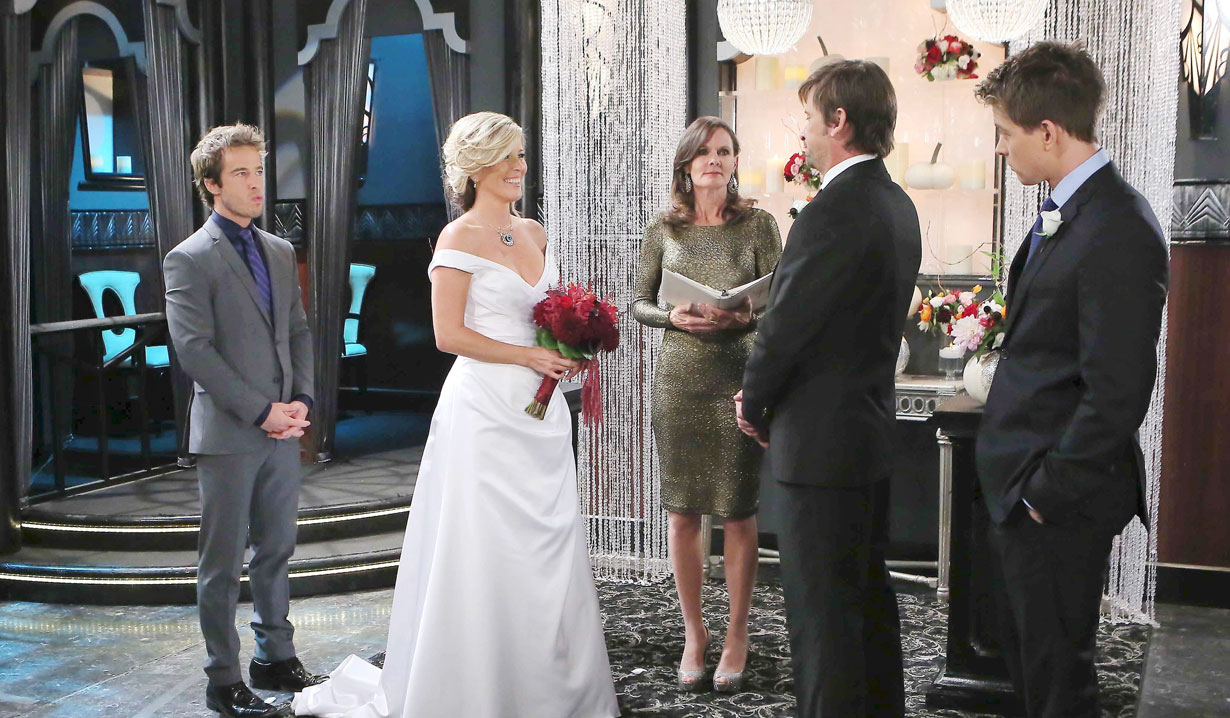 Franco and Carly almost marry on GH