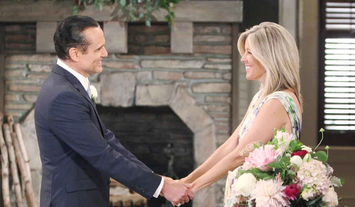 Carly and Sonny marry again on GH
