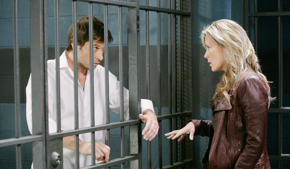 Todd in jail on General Hospital