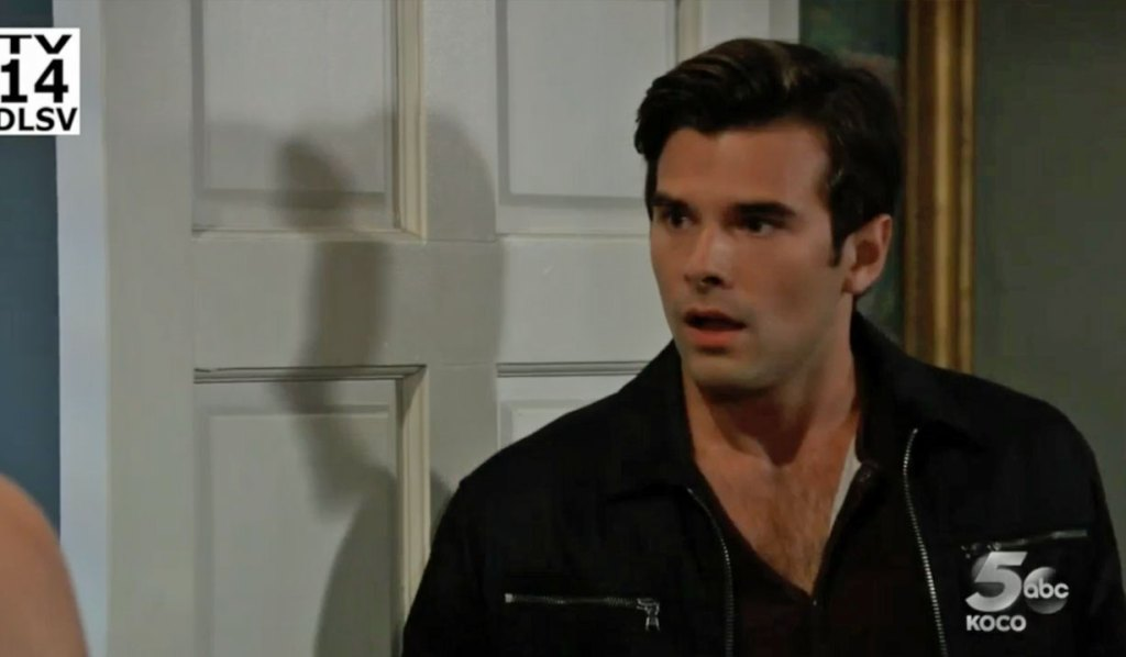 Chase gets a shock on GH