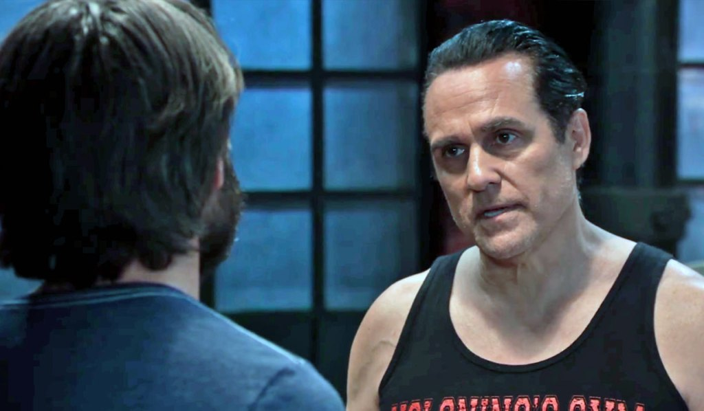 Dante talks with his dad on GH