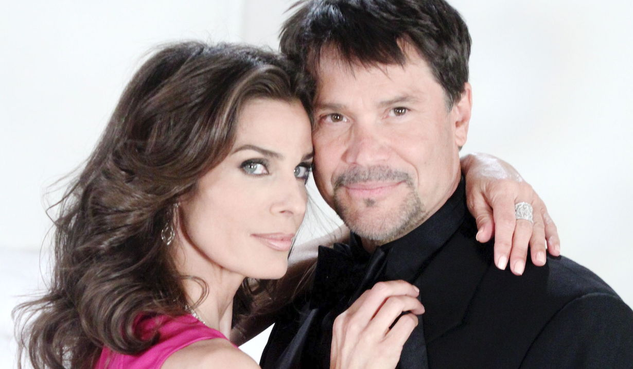 "Kristian Alfonso, Peter Reckell ""Days of our Lives"" hope bo alfonso reckell ps"