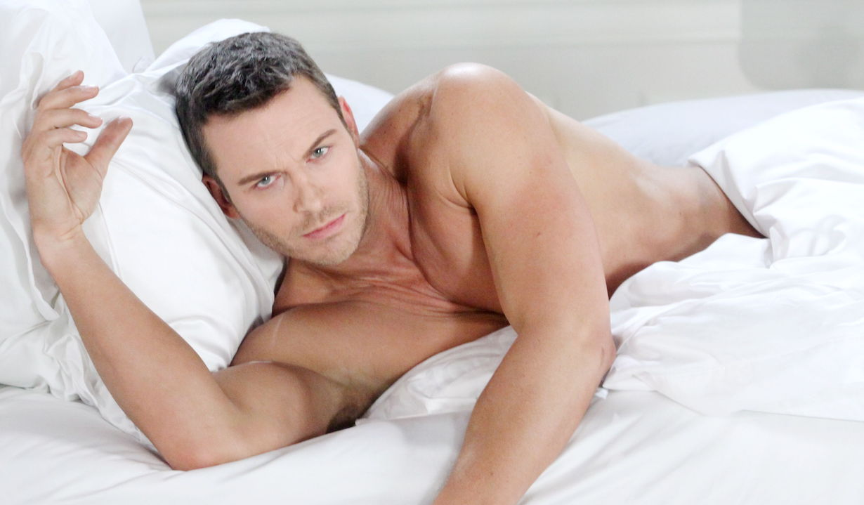 """Days of our Lives"" eric martsolf brady bed shirtless ps"