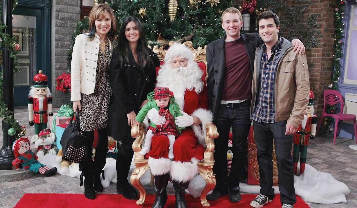 "Lauren Koslow, Camila Banus, Chandler Massey, Freddie Smith, Harper Udell ""Days of our Lives"""