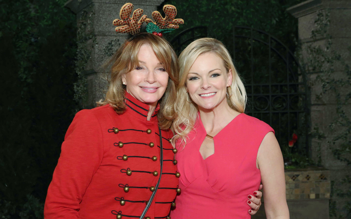 "Deidre Hall, Martha Madison ""Days of our Lives"" christmas hw"