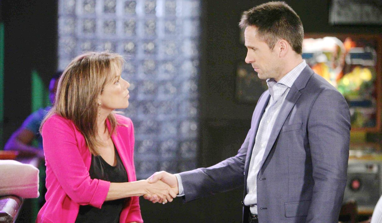 "William deVry, Nancy Lee Grahn ""General Hospital"" julian alexis derek wells meet"