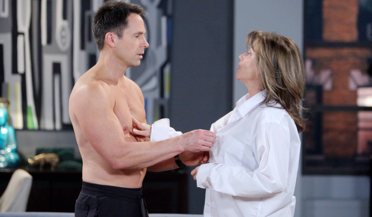 "Nancy Lee Grahn, William deVry ""General Hospital"" julian alexis sexy time"