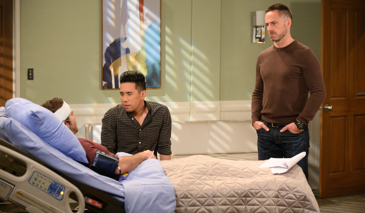 GENERAL HOSPITAL - william devry parry shen ryan carnes lucas brad julian