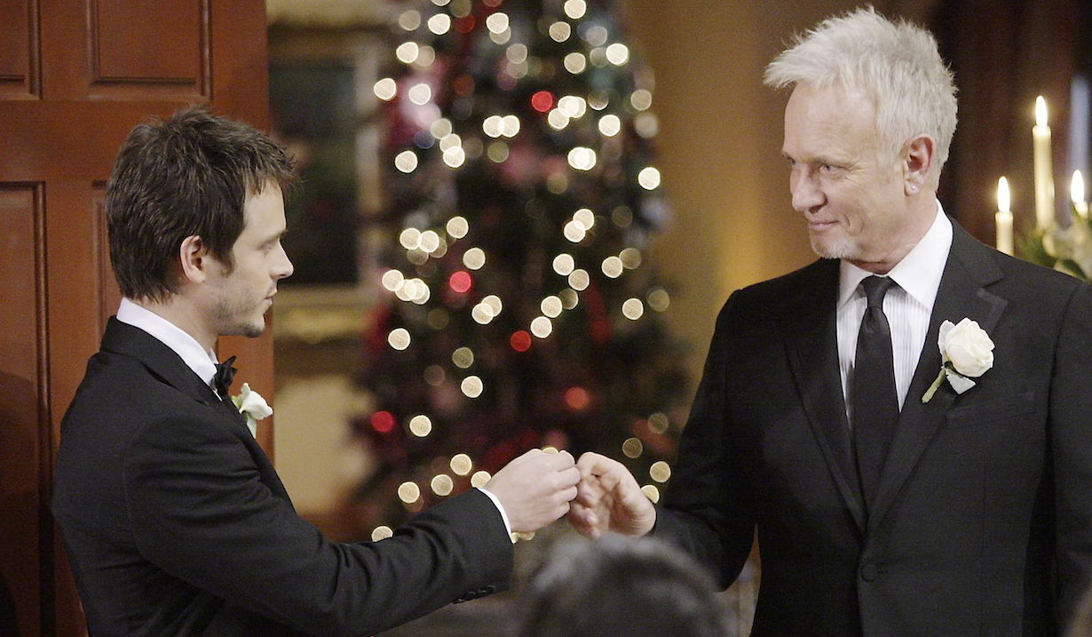 "Anthony Geary, Jonathan Jackson""General Hospital"" christmas wedding ss luke lucky"