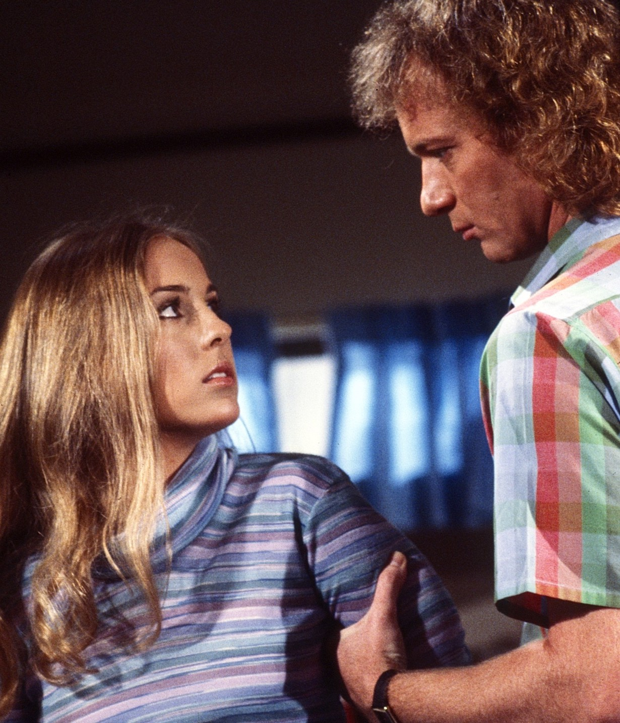 GENERAL HOSPITAL, from left: Genie Francis, Anthony Geary, (1980), 1963- , ph: Curt Gunther/TV Guide/©ABC /Courtesy Everett Collection