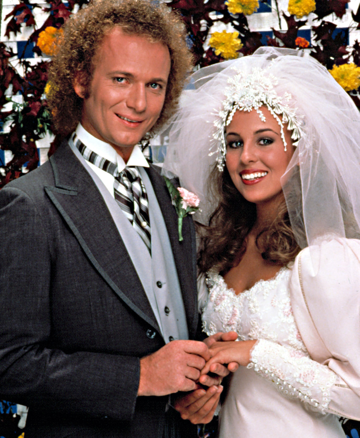 GENERAL HOSPITAL, Anthony Geary, Genie Francis, in the wedding episode, luke laura