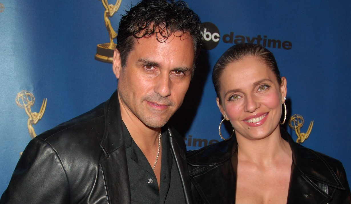 Maurice Benard and wife Paula lisa rose jpi