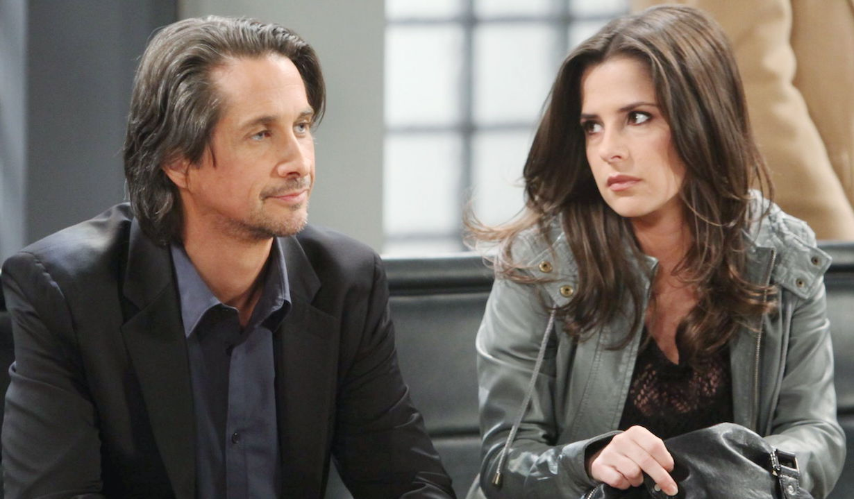 Michael Easton, Kelly Monaco gh mccain sam hw