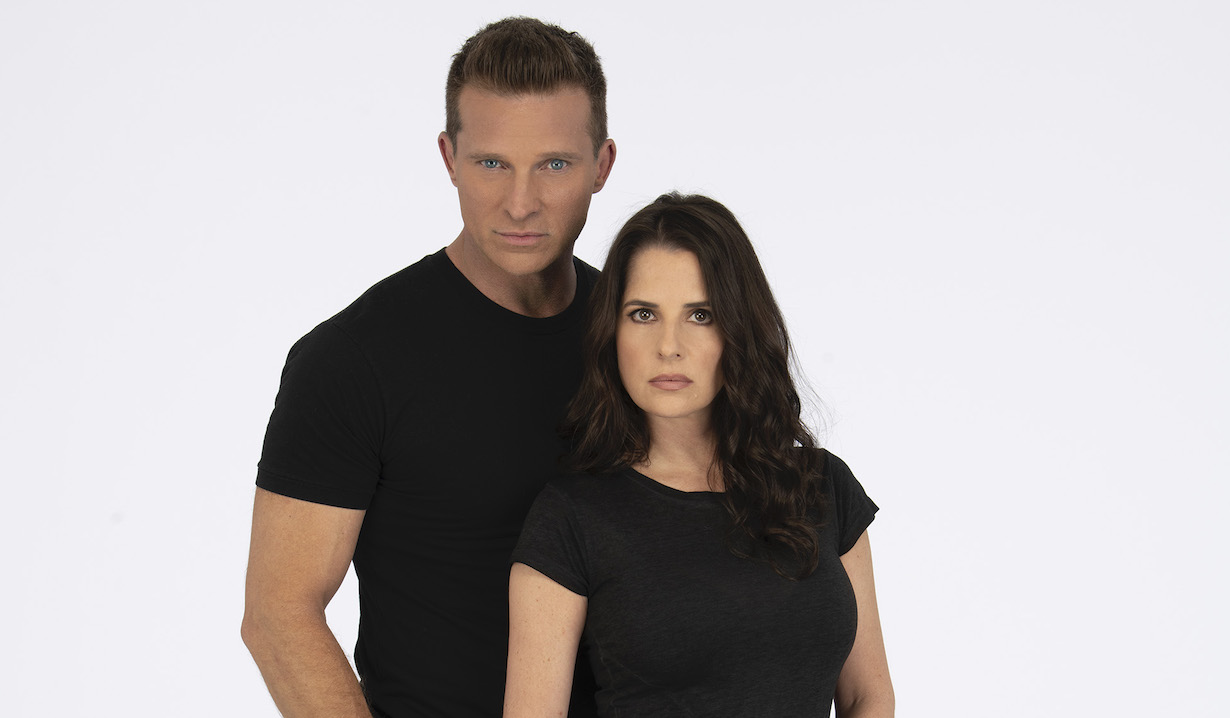STEVE BURTON, KELLY MONACO jason sam gh abc