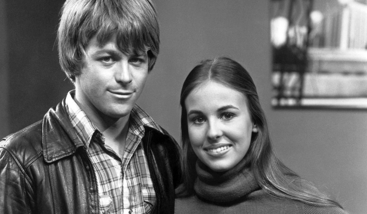 GENERAL HOSPITAL, (from left): Kin Shriner, Genie Francis, scotty laura