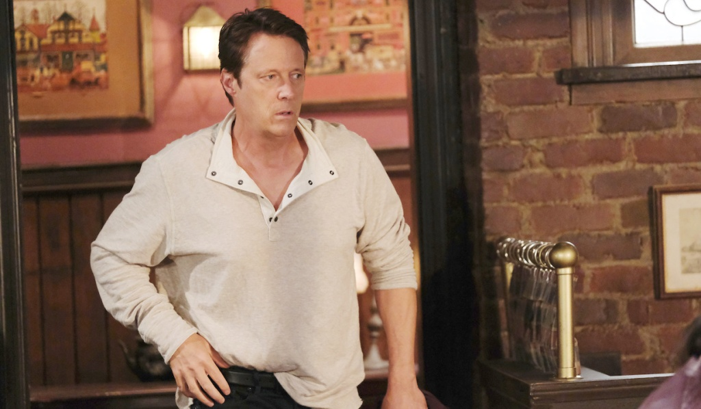 Jack sneaks out of Brady's Pub on Days of Our Lives