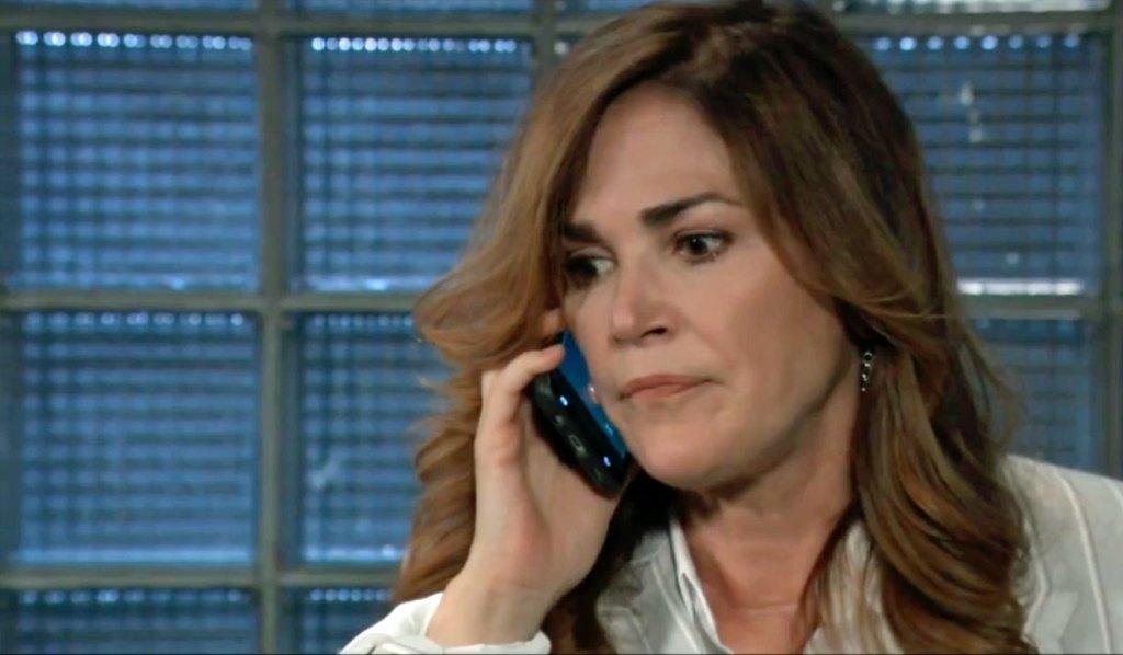 Jackie learns Finn was shot on GH