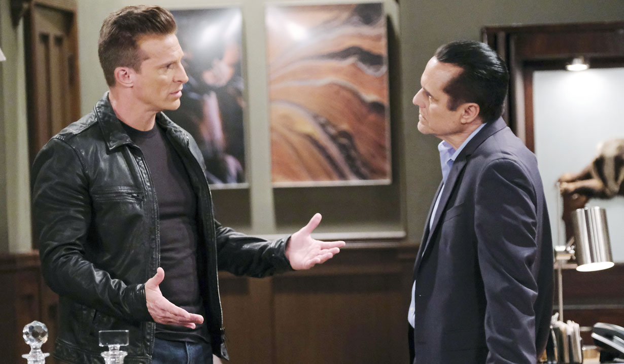 jason and sonny talk about their next move gh