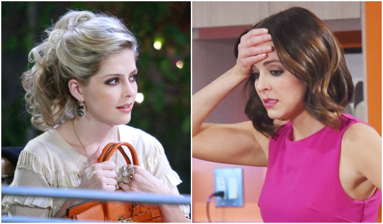 jen lilley blonde brunette before after