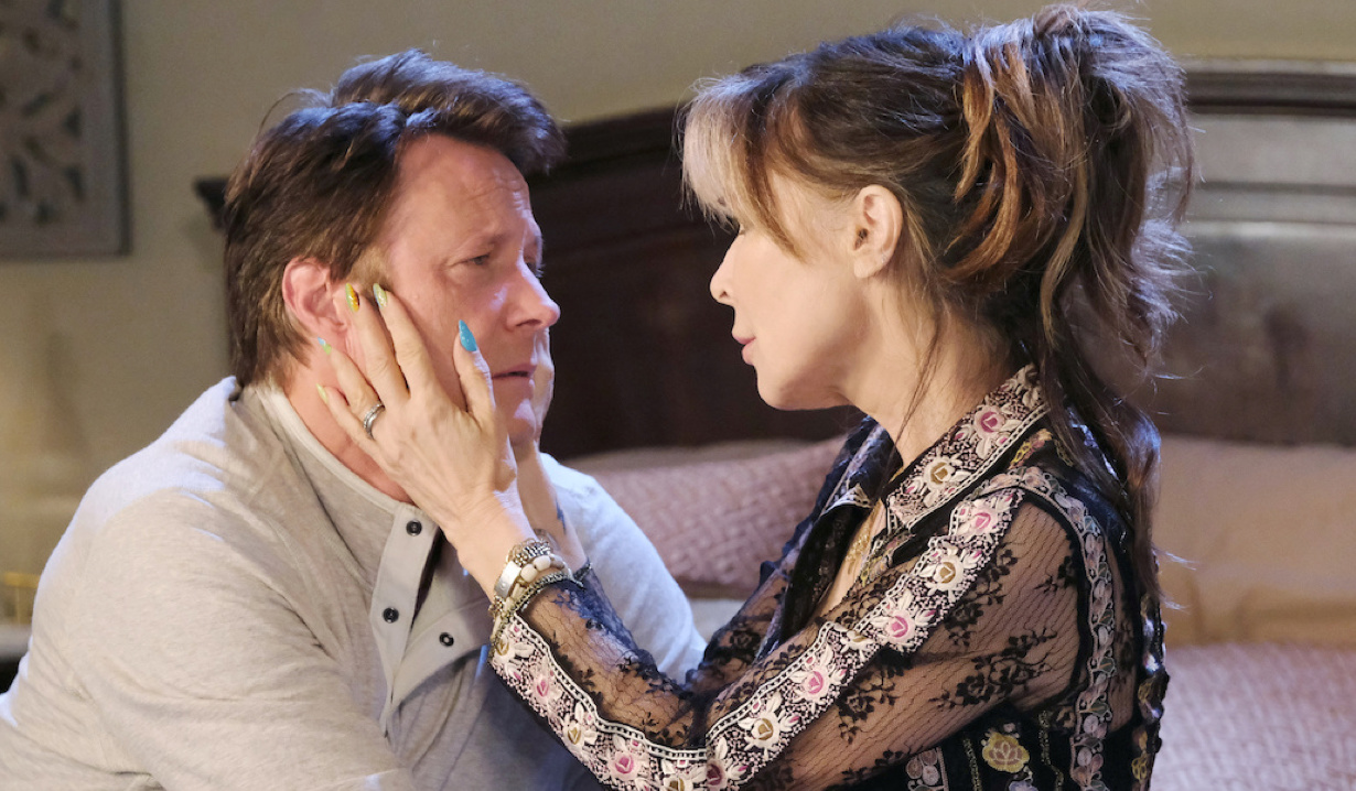 Kate comforts Jack on Days of Our Lives