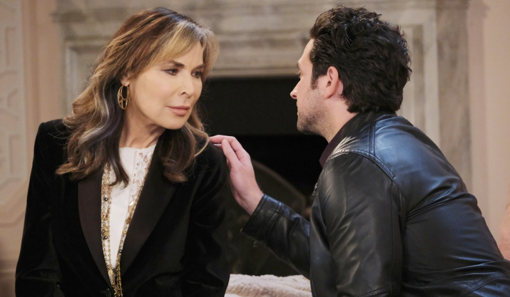 Jake comforts Kate on Days of Our Lives