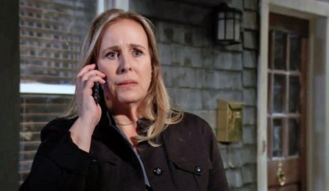 Laura makes a mysterious call on GH