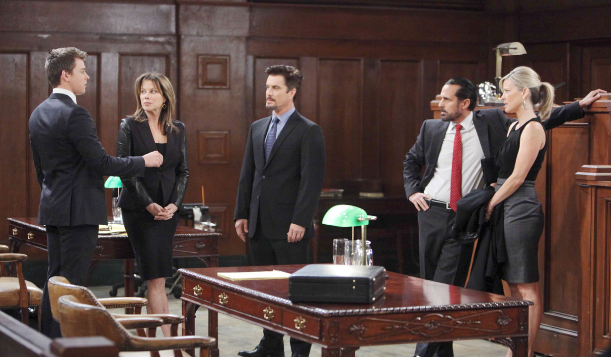 Michael goes to court with his parents on GH