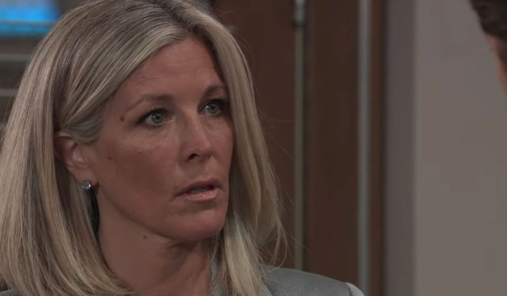 Michael is upset with Carly on GH