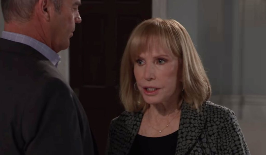 Monica warns Ned last chance on GH