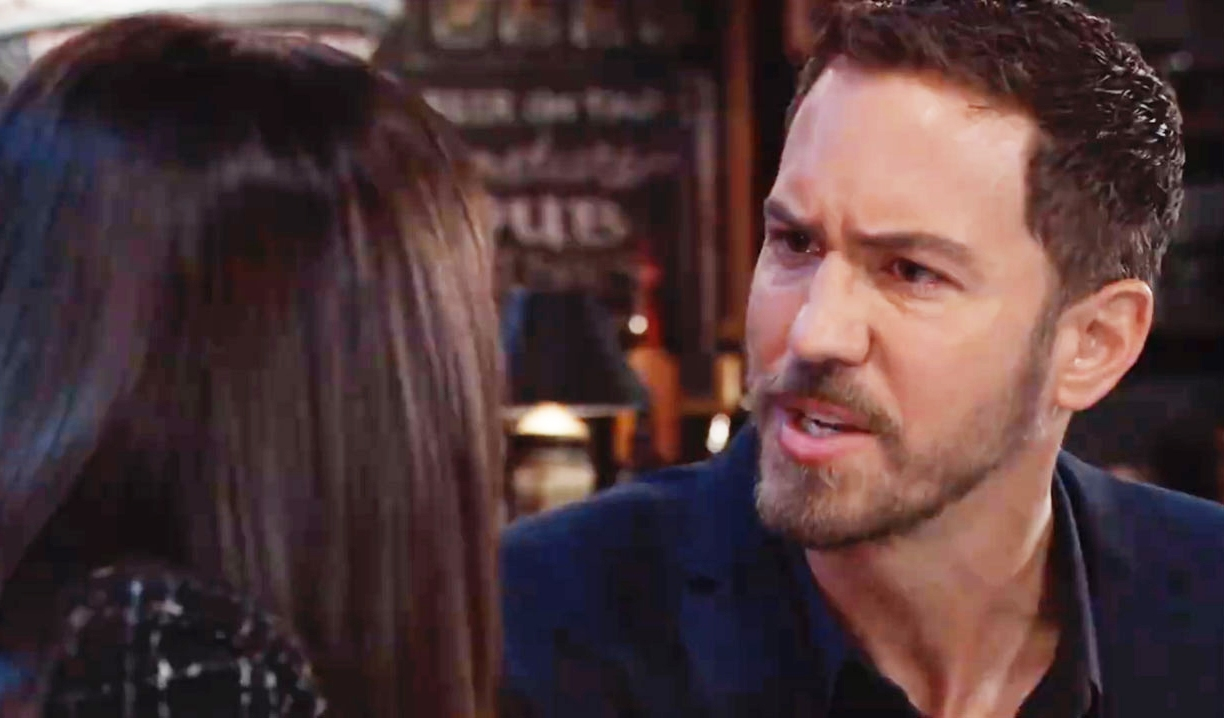 Alex tells Peter what he wants to hear at Charlie's General Hospital
