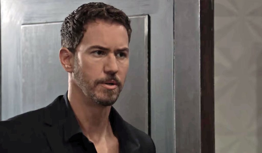 Peter is surprised by a guest on GH