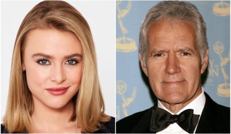 hayley erin alex trebek collage