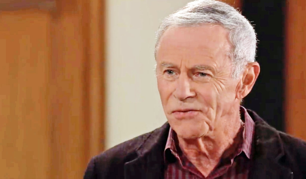 Finn tells Robert about Anna working with Valentin at Anna's General Hospital
