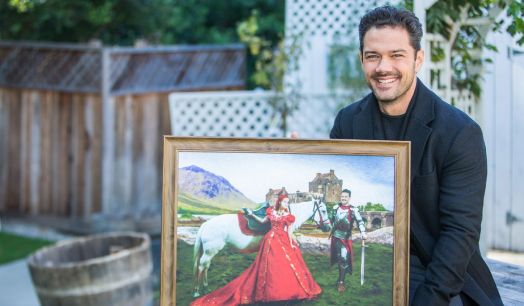 Ryan Paevey on Home & Family Timeless Love Christmas Hallmark