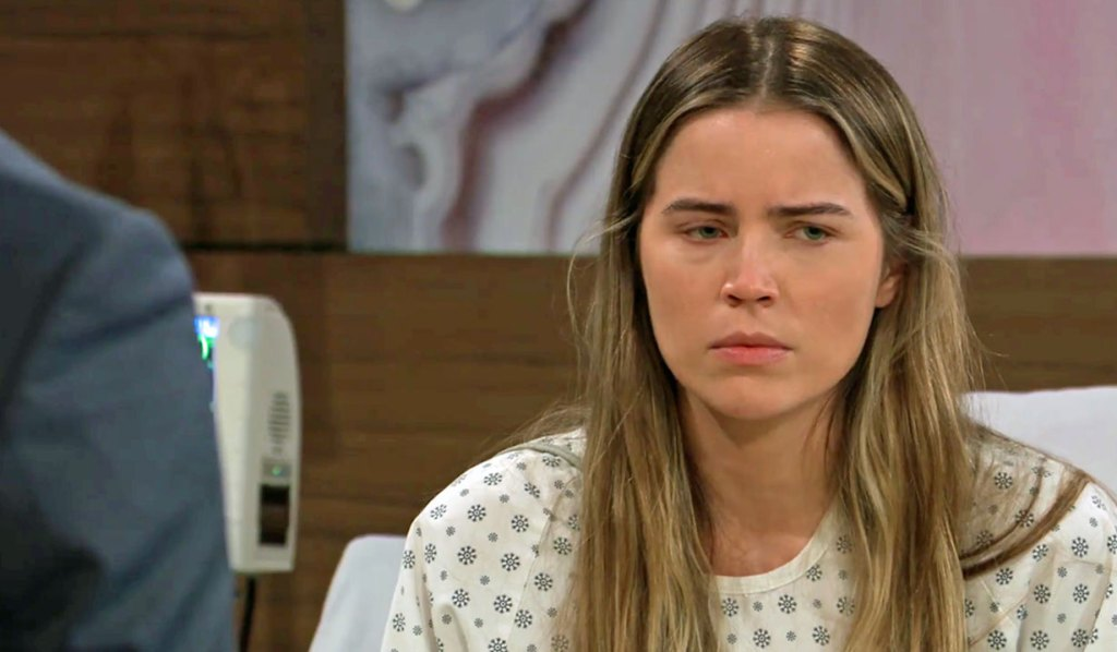 Sasha wakes up on GH