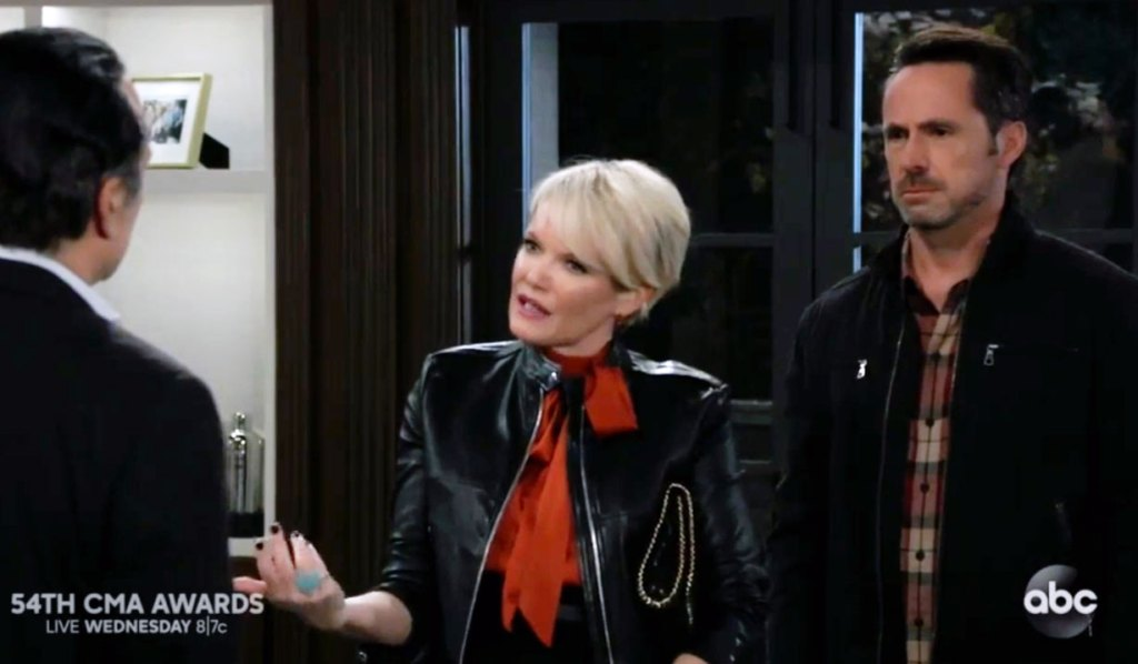 Ava defends Julian to Sonny on GH