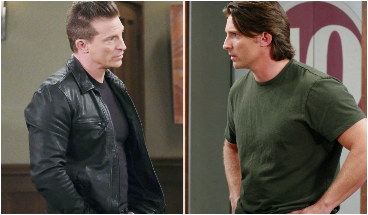 gh steve burton jason then now before after jj ron tom abc ec