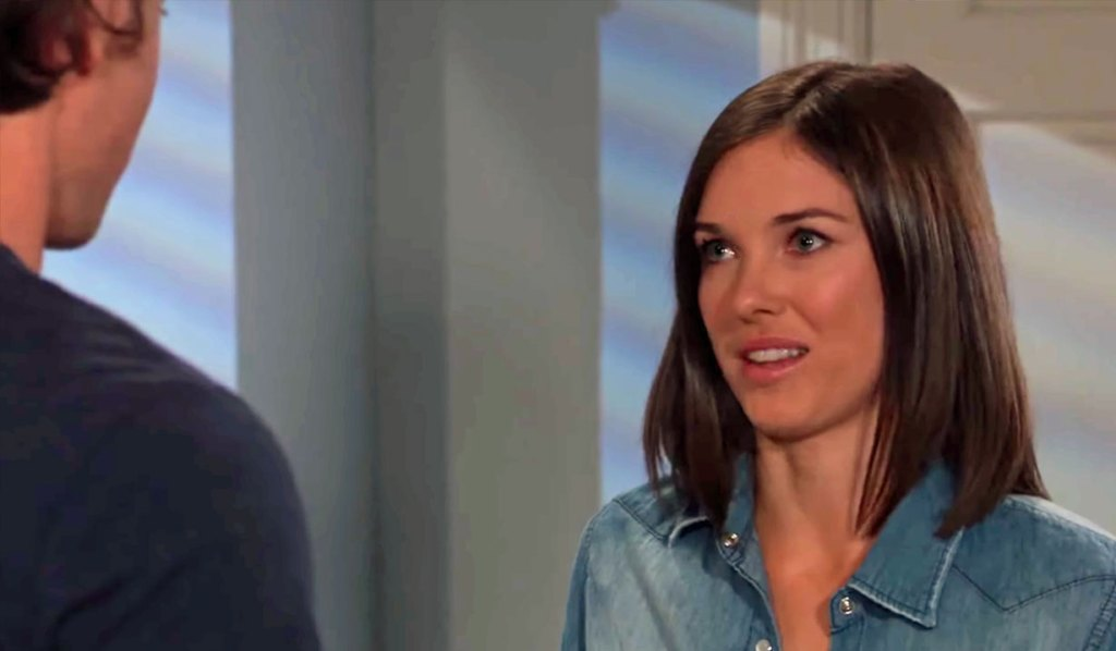 Willow and Michael discuss the annulment on GH