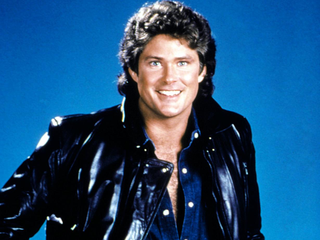 KNIGHT RIDER, David Hasselhoff, 1982-86. © Universal TV / Courtesy: Everett Collection