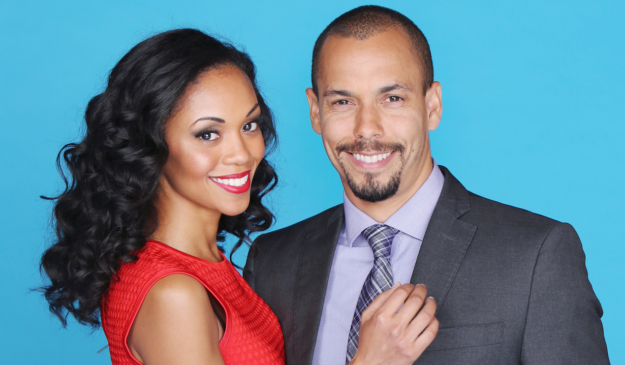 """The Young and the Restless"" mishael morgan bryton james hillary devon amanda"