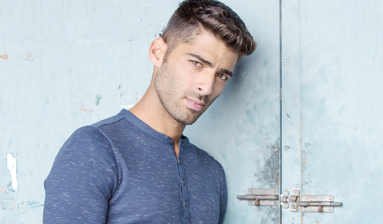 "Jason Canela arturo gallery ""The Young and the Restless"" Set CBS television City Los Angeles 10/05/18 © Howard Wise/jpistudios.com 310-657-9661"