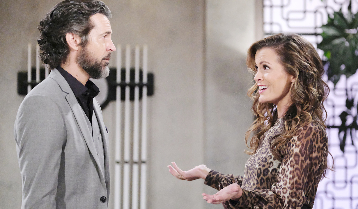 "Jeffrey Vincent Parise, Melissa Claire Egan ""The Young and the Restless"" Set CBS television City Los Angeles 09/26/19 © XjJohnson/jpistudios.com 310-657-9661 Episode # 11807 U.S. Airdate 11/1/19"